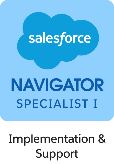 Salesforce Navigator Specialist I Implementation and Support Badge