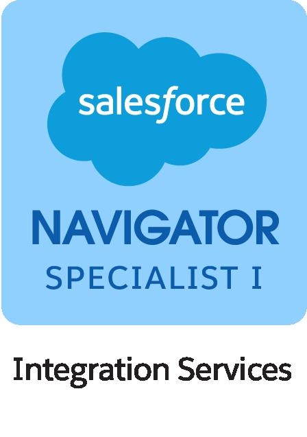 Salesforce Navigator Specialist I Integration Services Badge
