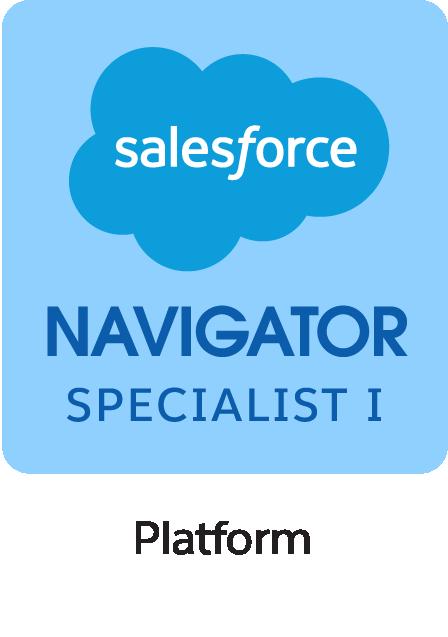 Salesforce Navigator Specialist I Platform Badge
