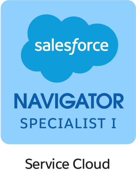 Salesforce Navigator Specialist I Sales Cloud Badge