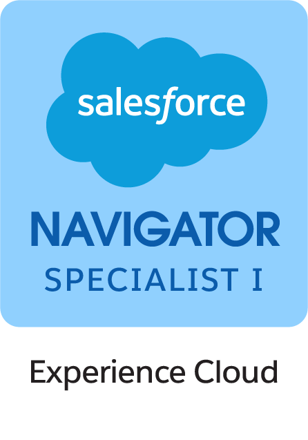 Salesforce Navigator Specialist II Experience Cloud Badge