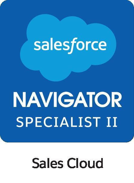 Salesforce Navigator Specialist II Sales Cloud